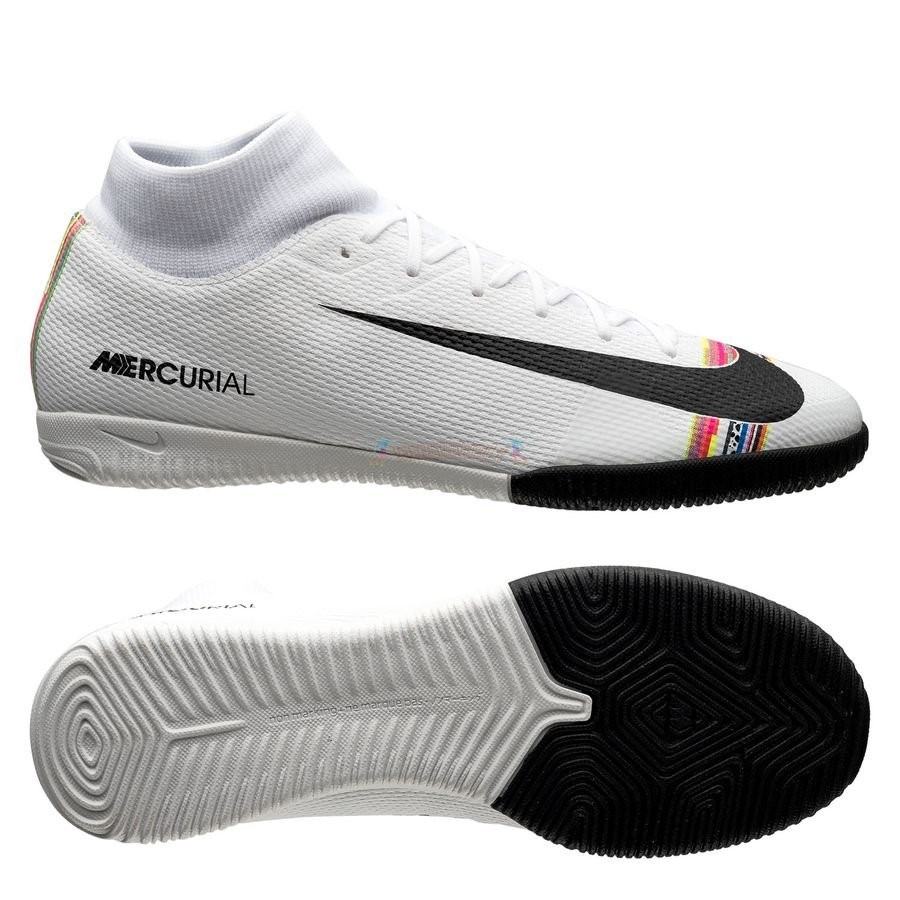 Les 2019 meilleures Nike Mercurial Superfly 6 Academy IC LVL UP Blanc