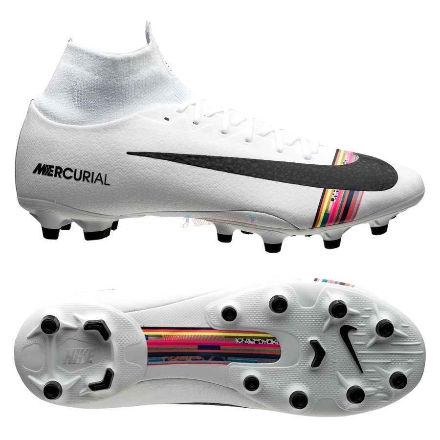 Les 2019 meilleures Nike Mercurial Superfly 6 Pro AG PRO LVL UP Blanc
