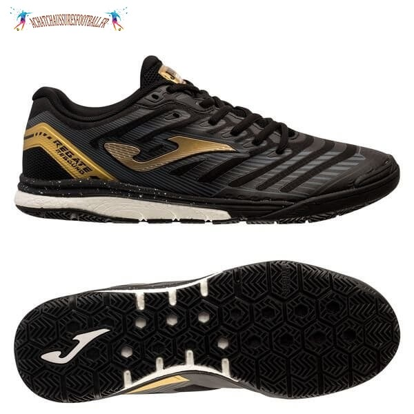 Les 2021 Meilleures Joma Regate Rebound IN Noir Or